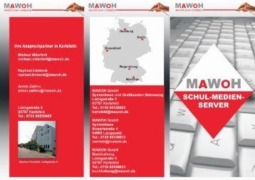 MAWOH Flyer SMS - MAWOH GmbH / MAWOH Systemhaus GmbH
