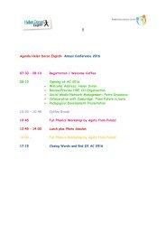 Agenda HDE AC 2016