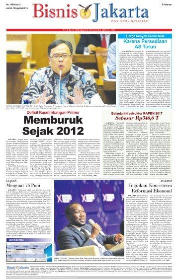Bisnis Jakarta 19 Agustus 2016