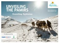UNVEILING THE PAMIRS