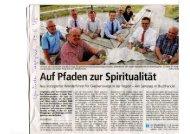 Gmünder Tagespost, 19.08.2016, Glaubenswege