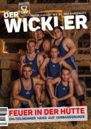Der Wickler 2. Ausgabe 2016