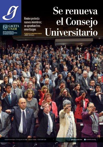 Se renueva el Consejo Universitario