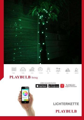 MiPow Playbulb String Lichterkette