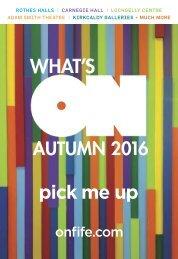 Fife Cultural Trust Autumn Brochure