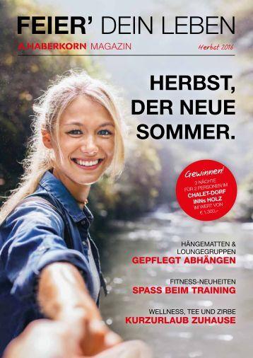 Haberkorn Magazin Herbst 2016
