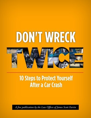 DON'T WRECK