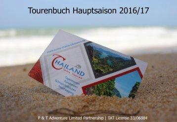 Toms-Thailandtouren Tourkatalog 2016/17