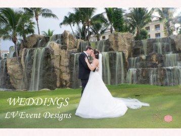 LV Event Designs Wedding Brochure
