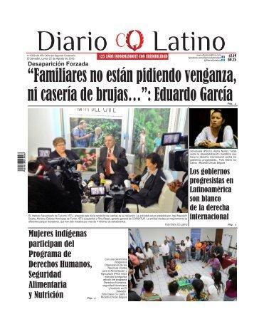 Edición 22 de Agosto de 2016