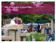 City of Brandon Culture Plan