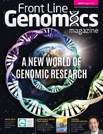 A NEW WORLD OF GENOMIC RESEARCH