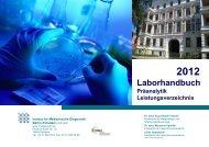 Laborhandbuch - Medizinisches Labor Potsdam