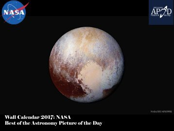 Wall Calendar 2017 NASA Best of the Astronomy Picture of the Day
