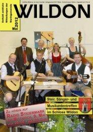 Hier können Sie die Gemeindezeitung von Mai 2012 - Wildon