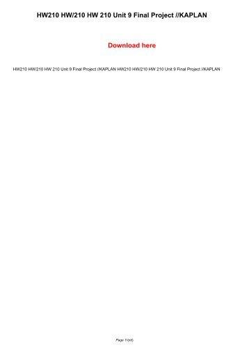 hn 144 unit 4 assignment essay
