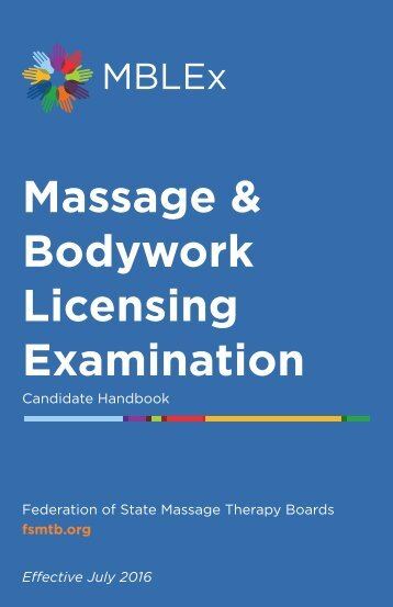 Massage & Bodywork Licensing Examination