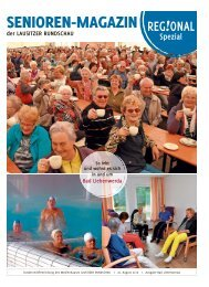 Regional Spezial | Senioren-Magazin der LAUSITZER RUNDSCHAU