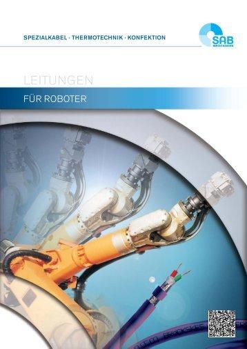 Kabel und Leitungen für Roboter