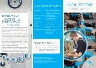Ausbildung zum Industriemechaniker/-in