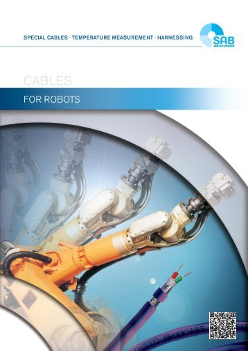 Cables for robots