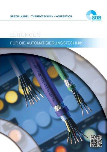 Leitungen für die Automatisierung