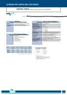 Kabel und Leitungen für die Lampen- und Leuchtenindustrie - Seite 7