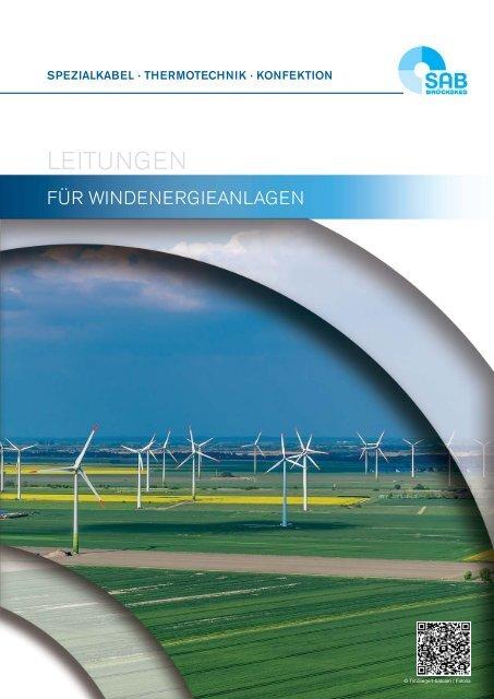 Leitungen für Windenergieanlagen