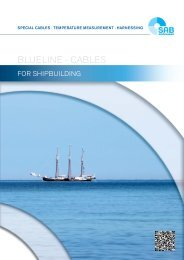 Cables for Shipbuilding