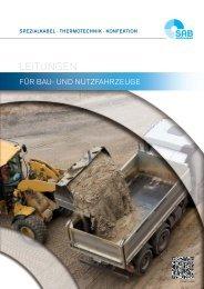 Kabel und Leitungen für Bau- und Nutzfahrzeuge
