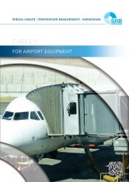 Cables for Airport Equipment