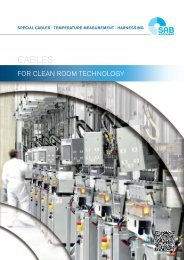 Cleanroom Cables