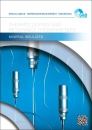 Thermocouples and Resistance Thermometers