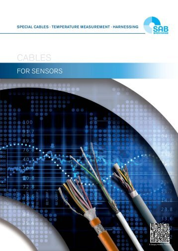 Cables for sensors