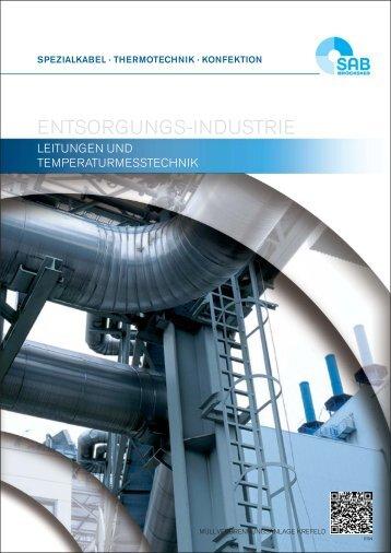 Kabel und Leitungen für die Entsorgungs- Industrie