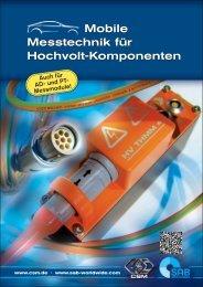 Mobile Messtechnik für Hochvolt-Komponenten