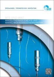 Mantel-Thermoelemente und Mantel-Widerstandsthermometer