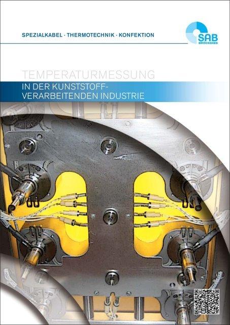 Temperaturmessung in der kunststoffverarbeitenden Industrie