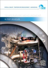 Temperature Measurement in Test Vehicles