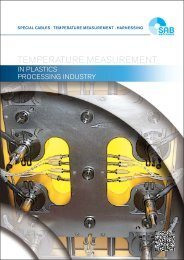 Temperature Measurement in plastics processing industry