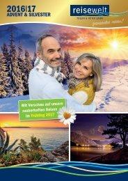 Advent- und Silvester-Reisen 2016 / 17