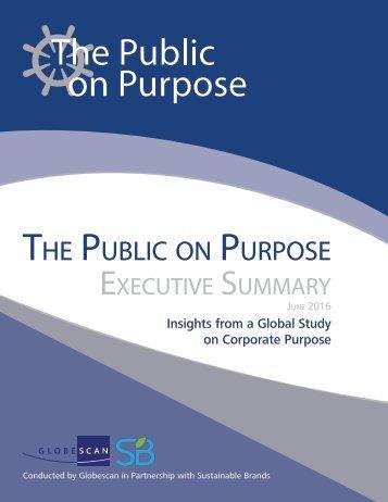 The Public Purpose