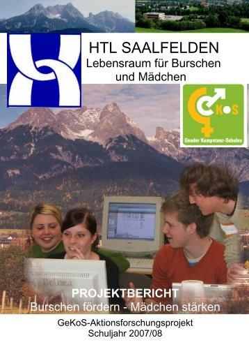 projektbericht - der HTL Saalfelden