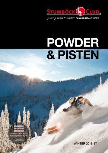 POWDER & PISTEN 2016-17