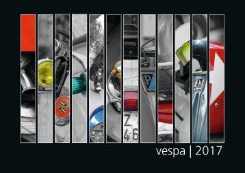 vespa | 2017 - Der Vespajahreskalender