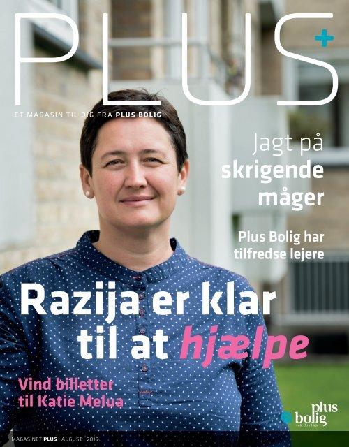 Magasinet PLUS - August 2016 - Razija er klar til at hjælpe