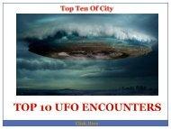 Top 10 Ufo Encounters