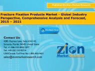 Fracture Fixation Products Market