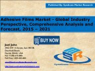Adhesive Films Market