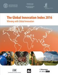 The Global Innovation Index 2016